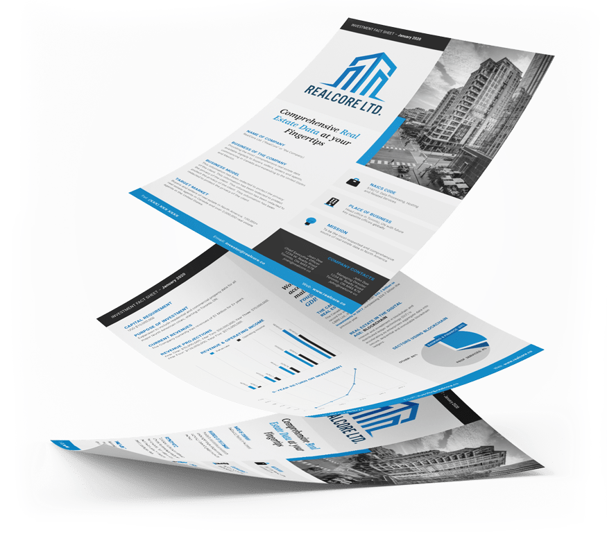 examples of fact sheets with graphic design