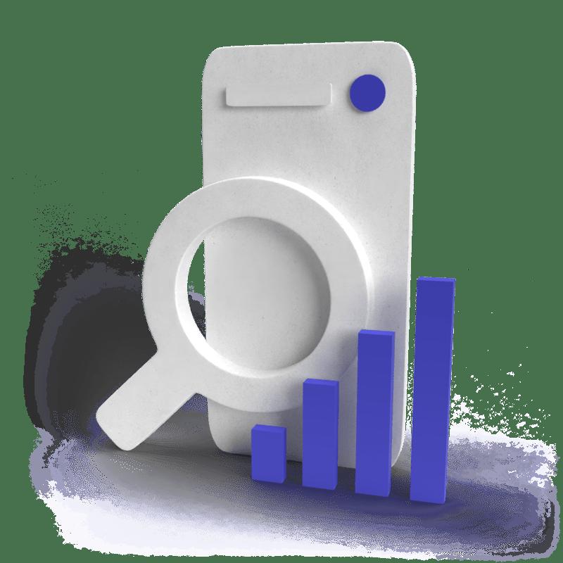 3d illustration of search engine optimization